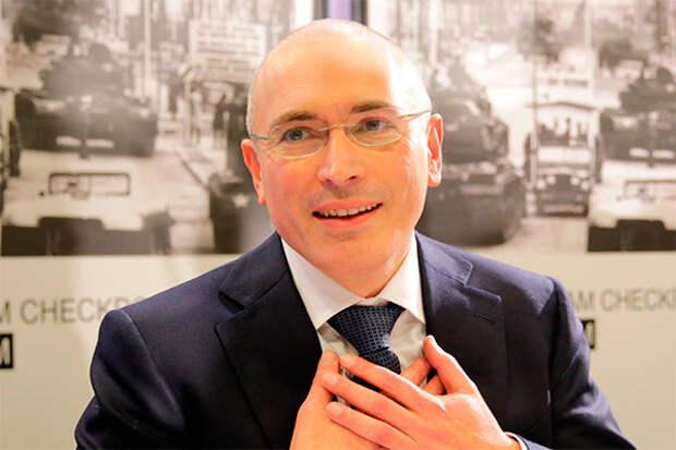 Михаил Ходорковский. Фото: GLOBAL LOOK press/Kay Nietfeld