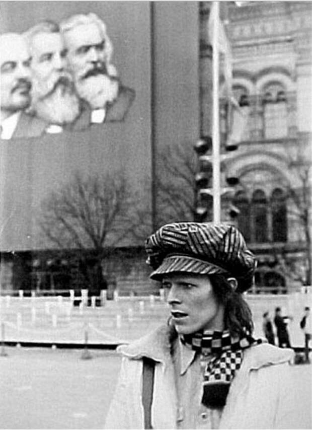 Как Дэвид Боуи путешествовал по СССР