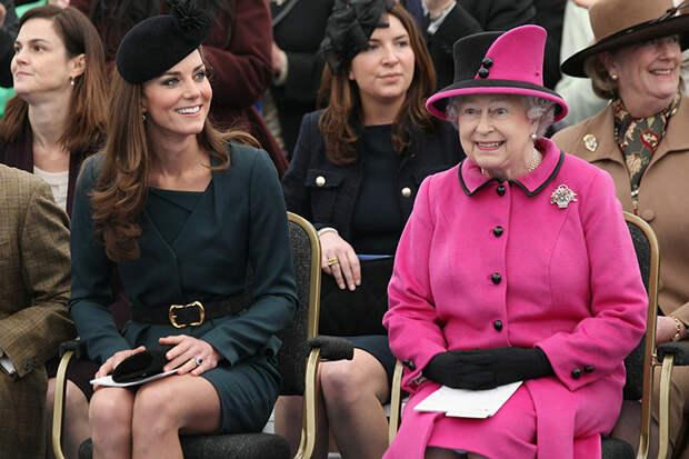 Елизавета II выступила с поддержкой нового проекта Кейт Миддлтон