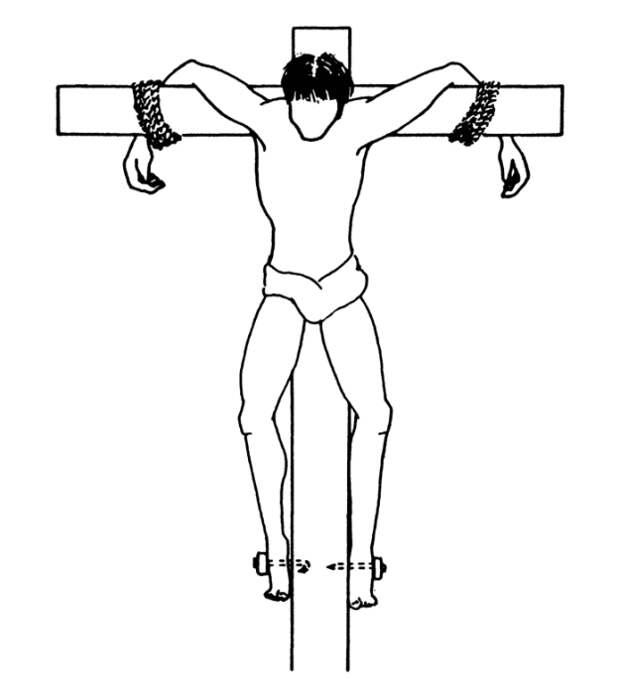 Реконструкция распятия Иоханана Бен-Хагалгола.