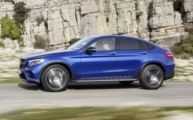 Объявлены рублевые цены на Mercedes-Benz GLC Coupe и кабриолет C-класса