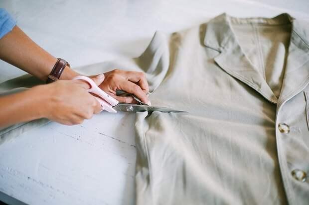 Юбка из пиджака или жакета (Diy)