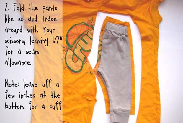 штанишки из футболки 2
