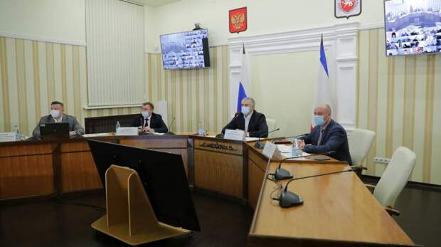 Сергей Аксёнов: В ходе совещаний по инфраструктурным проектам будут последовательно рассматривать ход строительства по регионам Крыма