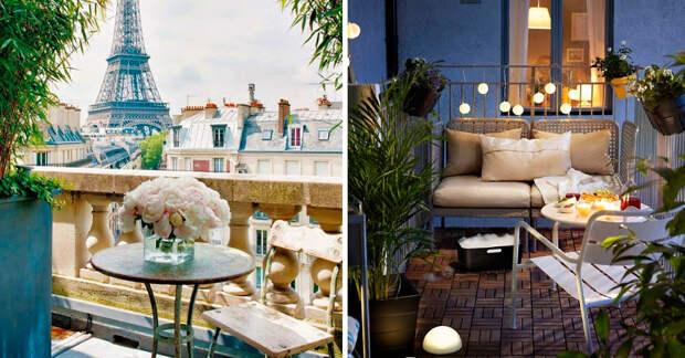 30 манящих балконов, на которых хочется провести всё лето!