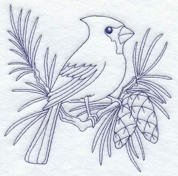 Cardinal (Bluework)