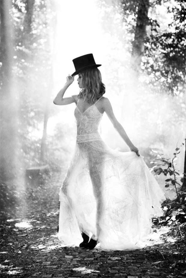 Ванесса Паради в фотосессии для Madame Figaro
