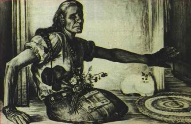 «Автографы войны»: портреты забытых героев ВОВ, доживавших свой век на острове Валаам