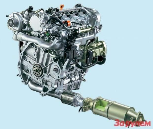 Дизельный двигатель: сажа и лажа