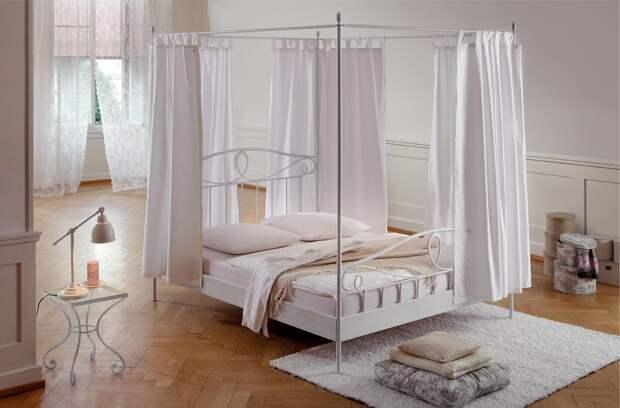 Балдахин над кроватью своими руками (79 фото)