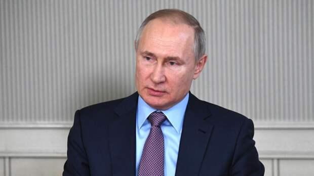 Кремлевский пул рассказал о реакции Путина на новые санкции США