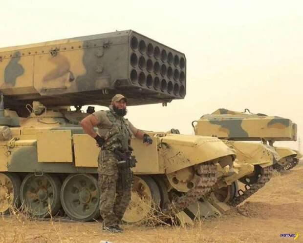 Огнедышащий «Буратино» против ИГИЛ: США в восторге от возможностей ТОС-1