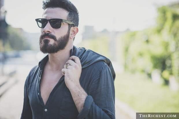 10. Борода – символ высокого статуса борода, факты