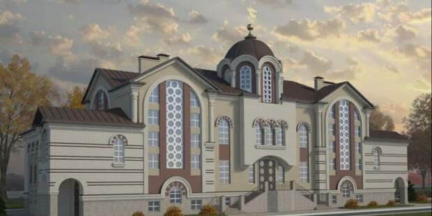 Строительство храма на Большой Академической завершится в 2022 году