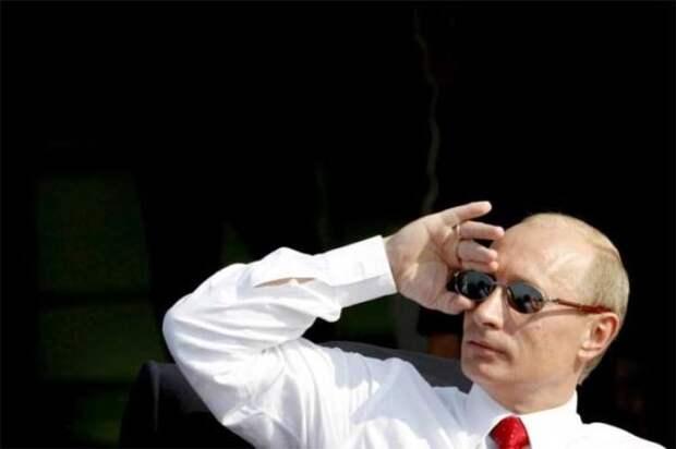 Владимир Путин на авиасалоне МАКС в этом году
