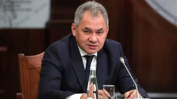 Шойгу: финансирование поставок вооружения в ВС РФ идет опережающими темпами