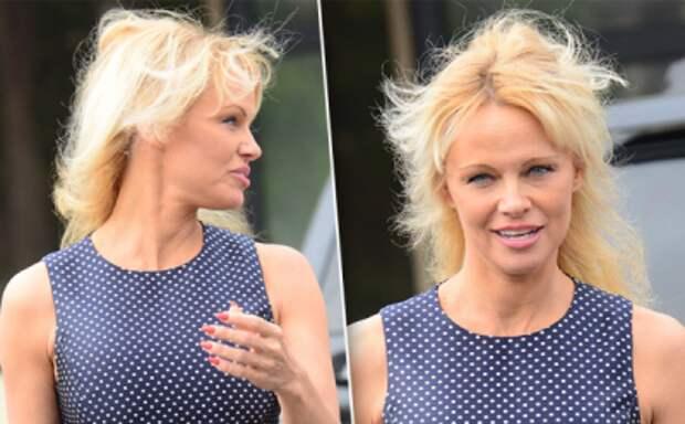 У 48-летней Памелы Андерсон проблемы с волосами