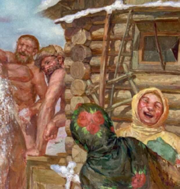 Навеселе Русы, баня, мифы, суеверия, традиции, церковные праздники