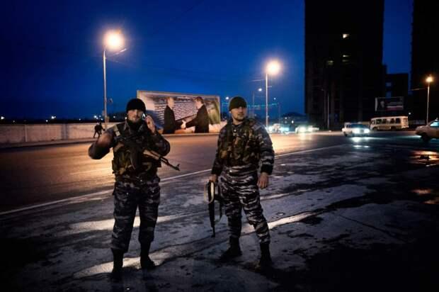 Чеченские полицейские