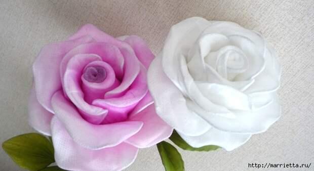 Розы из капрона. Красивые идеи и мастер-класс (51) (600x328, 140Kb)