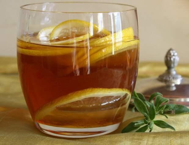 Лимонно-медовый напиток бодрость, кофе, напитки