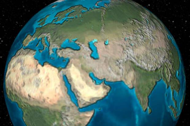 Как изменилась Земля за 100 миллионов лет: видео