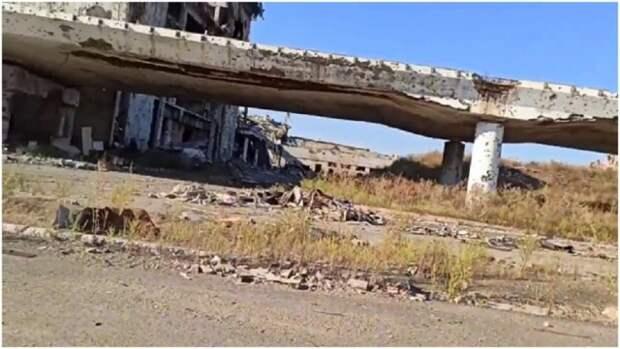 Появились свежие фото Донецкого аэропорта