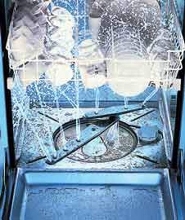 Бытовая техника. Как работает посудомоечная машина