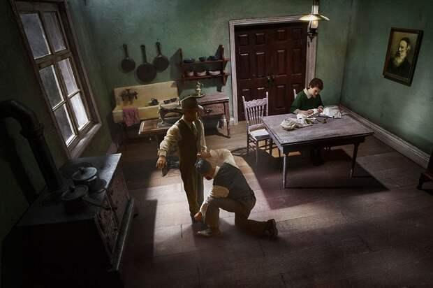 Детальная реконструкция жизни польской семьи в 1930-х годах