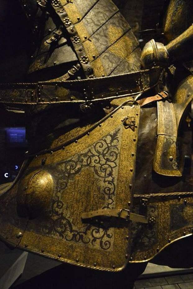 Доспех , Сигизмунда II Августа .