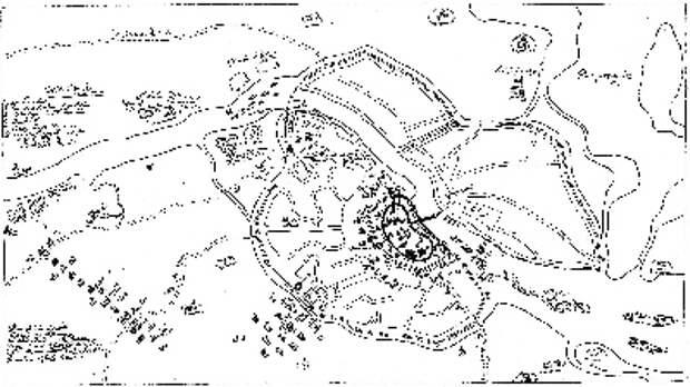 Волхов на замке, или Куда «уплыла» башня с карты XVII века посреди реки?