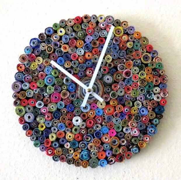 Необычные часы своими руками