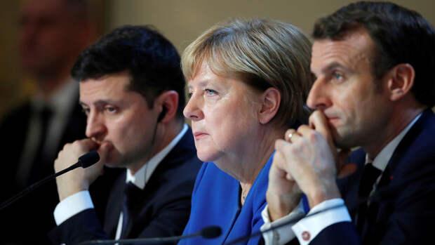 Зеленский заявил, что обсудил с Макроном членство Украины в ЕС и НАТО