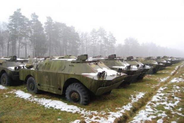 Украина после распродажи наследия СССР осталась безпатронов