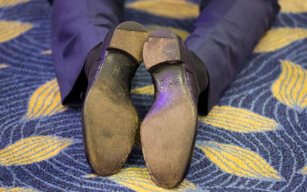 Подошвы туфель