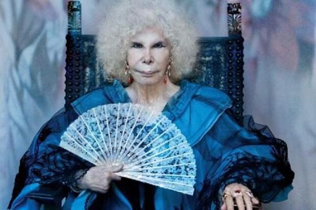 Ей уступала дорогу Елизавета II, а неудачная пластика только прибавила харизмы: кто она — Каэтана Альба — самая голубая кровь в мире
