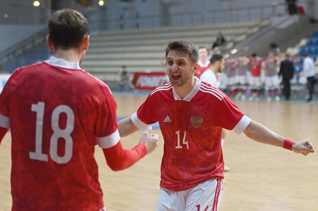 Сборная РФ по мини-футболу вышла в плей-офф ЧМ с первого места в группе