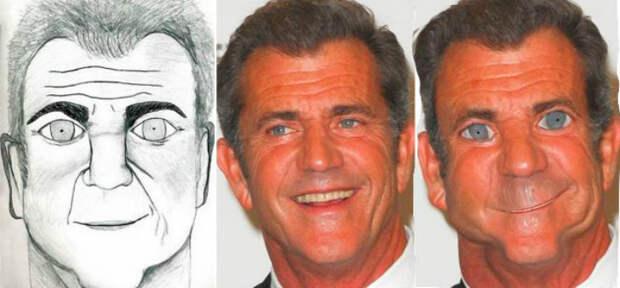 Не создавай себе кумира: знаменитостей отфотошопили в стиле фанатских рисунков
