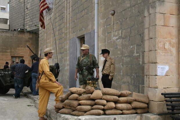 Блок пост африканского корпуса под командованием Роммеля. MG42, война, история, оружие, реставраторы
