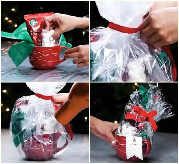 Отличные идеи, как красиво упаковать подарок за считанные минуты