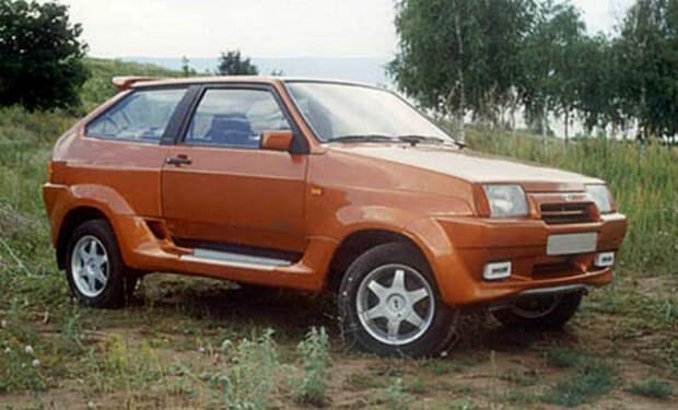 Необычные российские машины