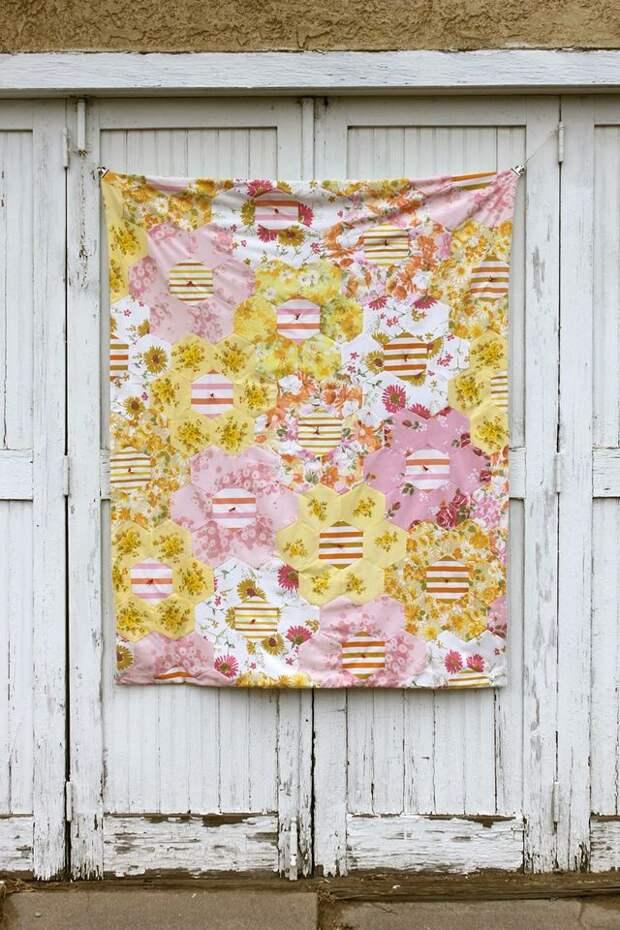 Пэчворк одеялко (Diy)