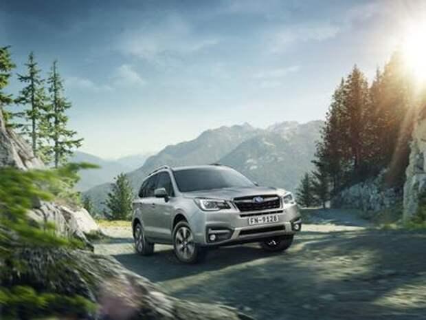Subaru Forester 2016 модельного года скоро прибудет в Россию