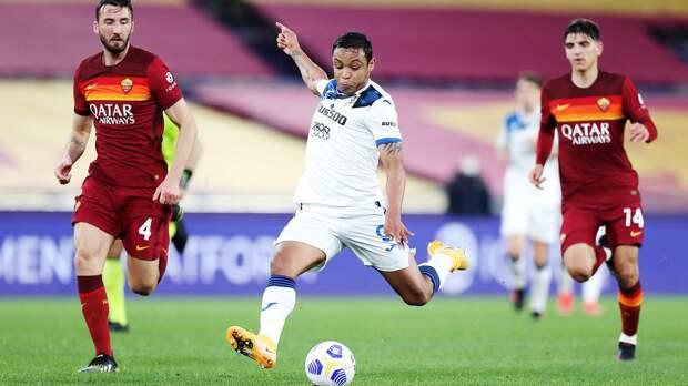 «Аталанта» сыграла вничью с «Ромой» и вернулась на 3-е место в Серии А, Миранчук остался в запасе