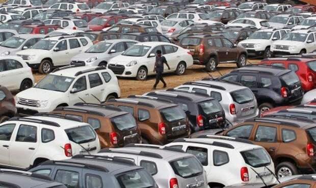 Продажи автомобилей в Индии