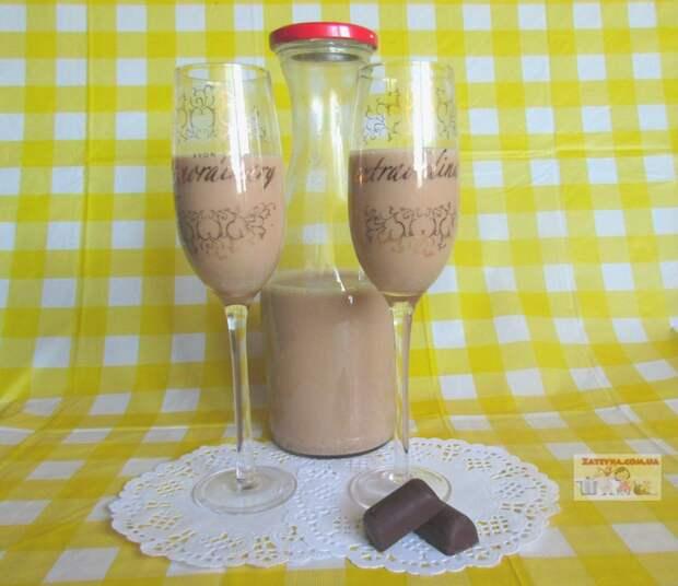Молочно-кофейный ликер