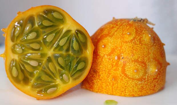 Дыня кивано еда, фрукты, экзотика