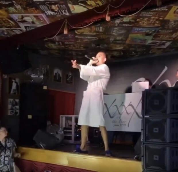 Рэп-исполнитель Morgenshtern выступил перед ставропольцами вхалате