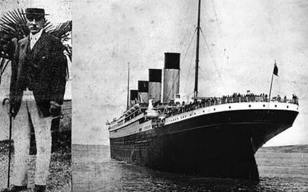 Данный человек остался в живых в пожаре утопающего корабля в 1871 г., оставшись с эмоциональным расстройством. Через 41 год, он наконец-то справился со своими страхами и кошмарами и решил отправиться в круиз еще раз. В этот раз он умер на Титанике.