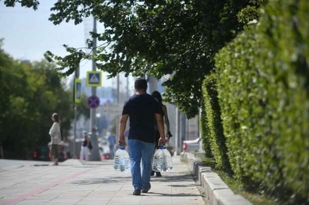 На каких улицах в Симферополе нет воды 28 сентября